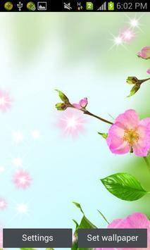Flowers Live wallpaper apk screenshot