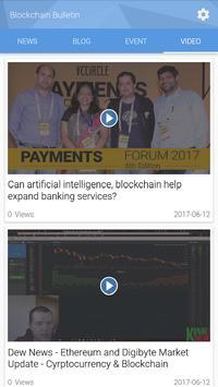 Blockchain Bulletin apk screenshot