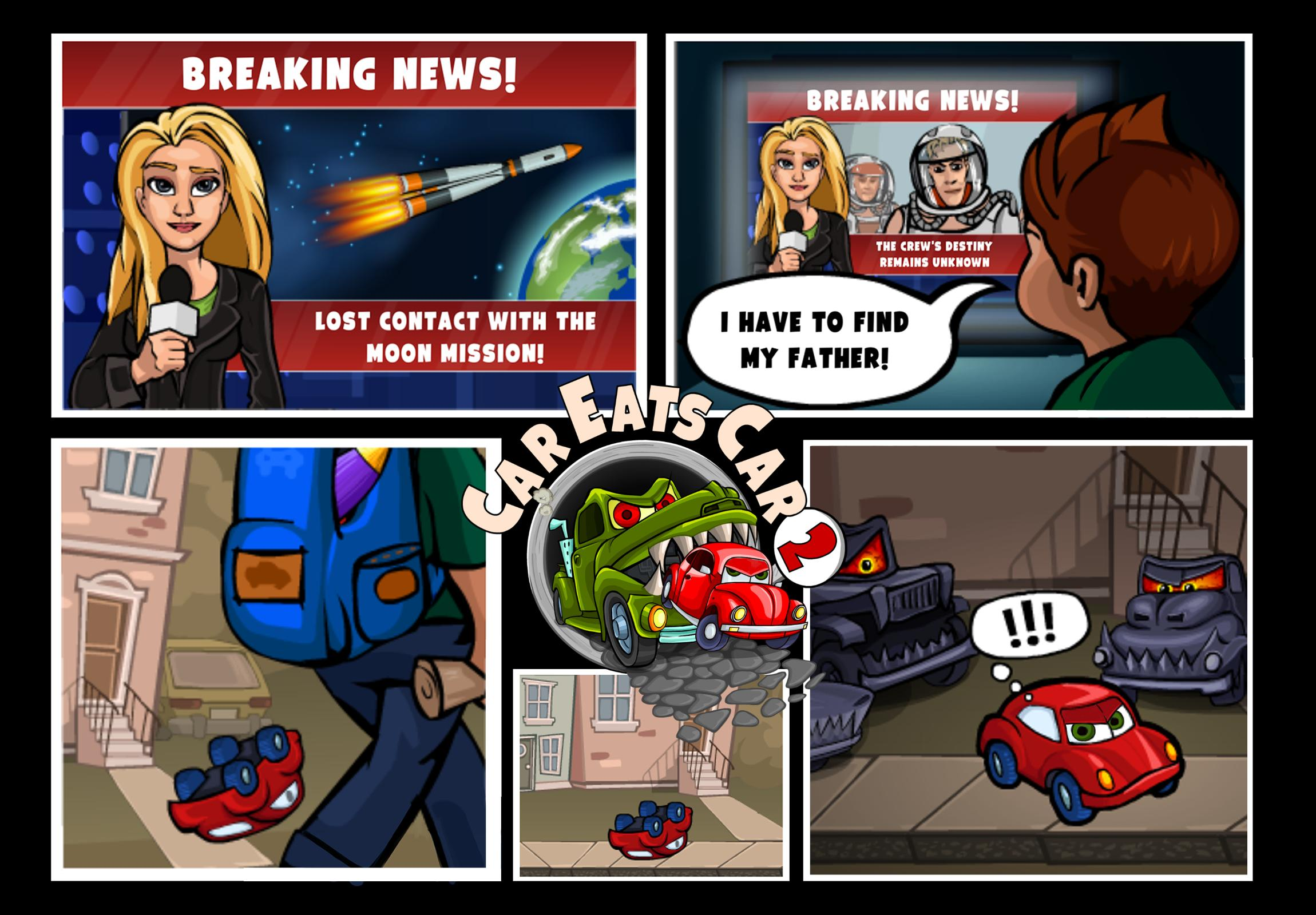 Car Eats Car 2 Racing Game For Android Apk Download