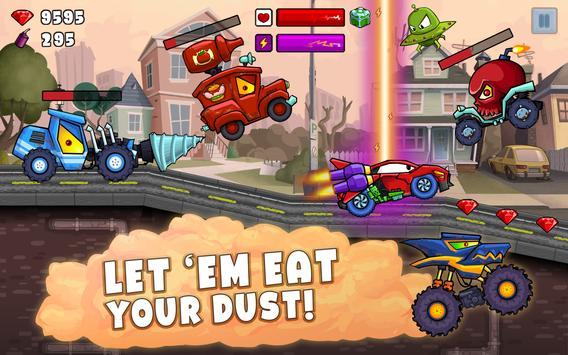 Car Eats Car 2 - Racing Game screenshot 8