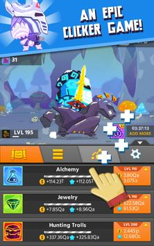 Hero Simulator Clicker Idle APK Download Free Role Playing GAME - Minecraft clicker spiele