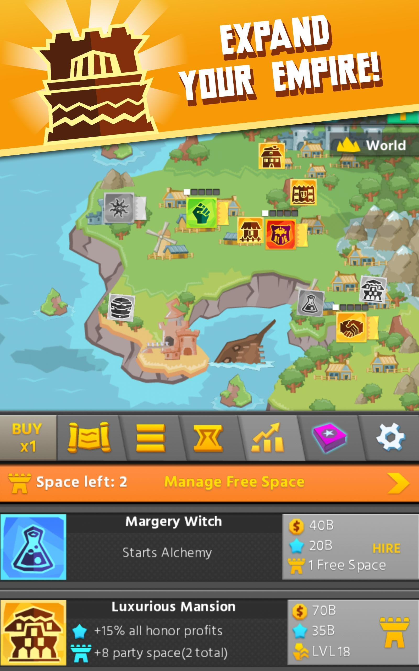 Hero Simulator: Clicker Idle for Android - APK Download