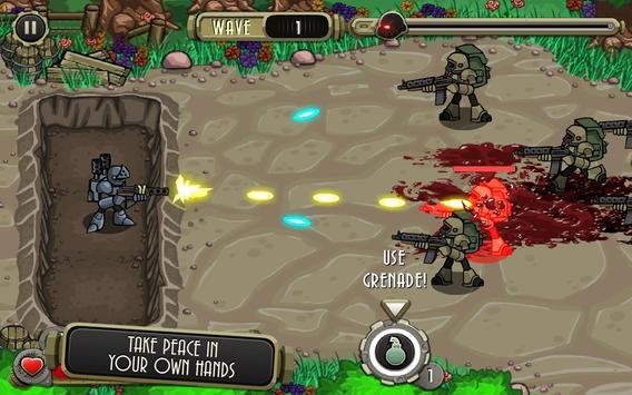 Peacekeeper - Trench Defense screenshot 13