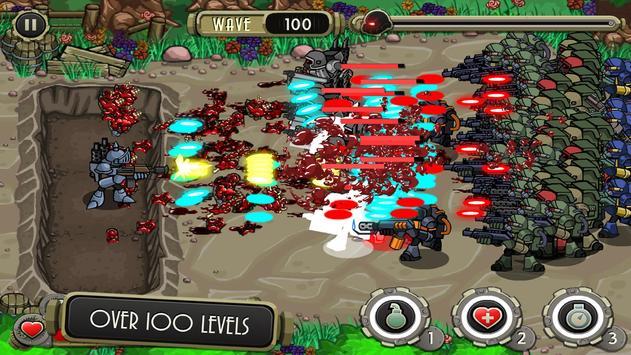 Peacekeeper - Trench Defense screenshot 1