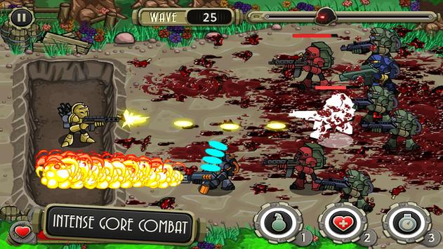 Peacekeeper - Trench Defense screenshot 3