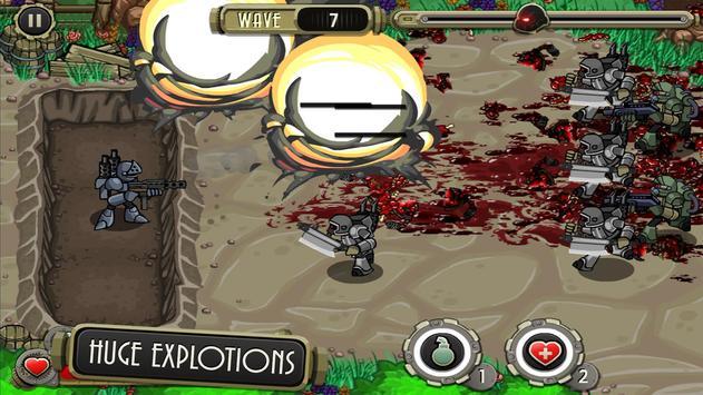 Peacekeeper - Trench Defense screenshot 4