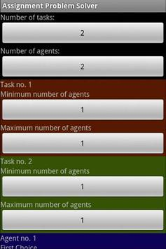 assignment problem solver apk tools app for  assignment problem solver poster