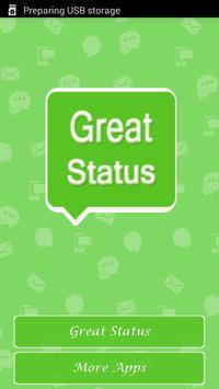 Great Status poster