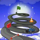 Spiral Death Well Car Stunt Rider icon