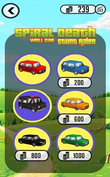 Spiral Death Well Car Stunt Rider screenshot 3