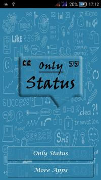 Only Status poster