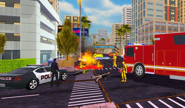 Firefighter Rescue Simulator 3D screenshot 4