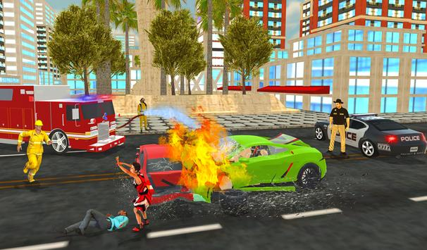 Firefighter Rescue Simulator 3D screenshot 5