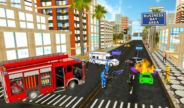 Firefighter Rescue Simulator 3D screenshot 7