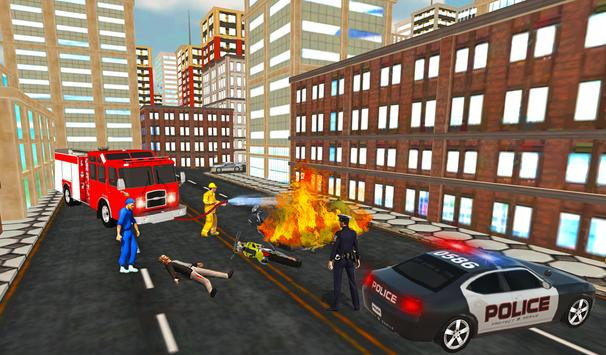 Firefighter Rescue Simulator 3D screenshot 9