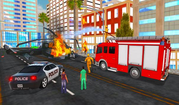 Firefighter Rescue Simulator 3D screenshot 21