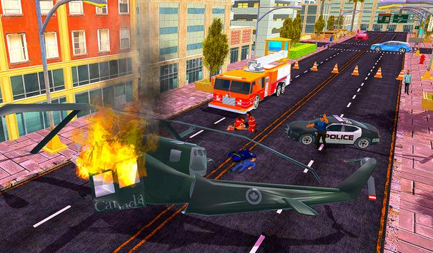 Firefighter Rescue Simulator 3D screenshot 3