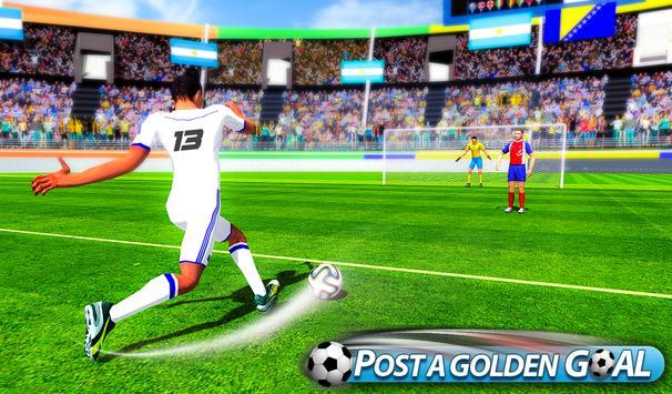 Flick Soccer League : Football Shoot Kick screenshot 4