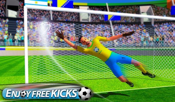 Flick Soccer League : Football Shoot Kick screenshot 9