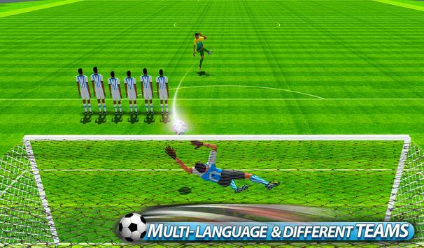 Flick Soccer League : Football Shoot Kick screenshot 11