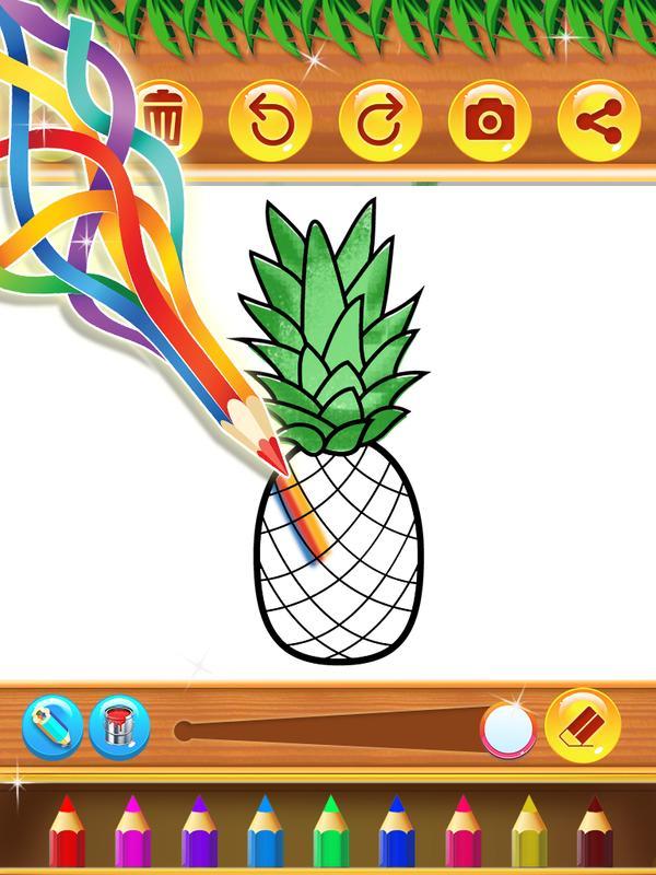 Buku Mewarnai Buah Dan Sayur For Android Apk Download