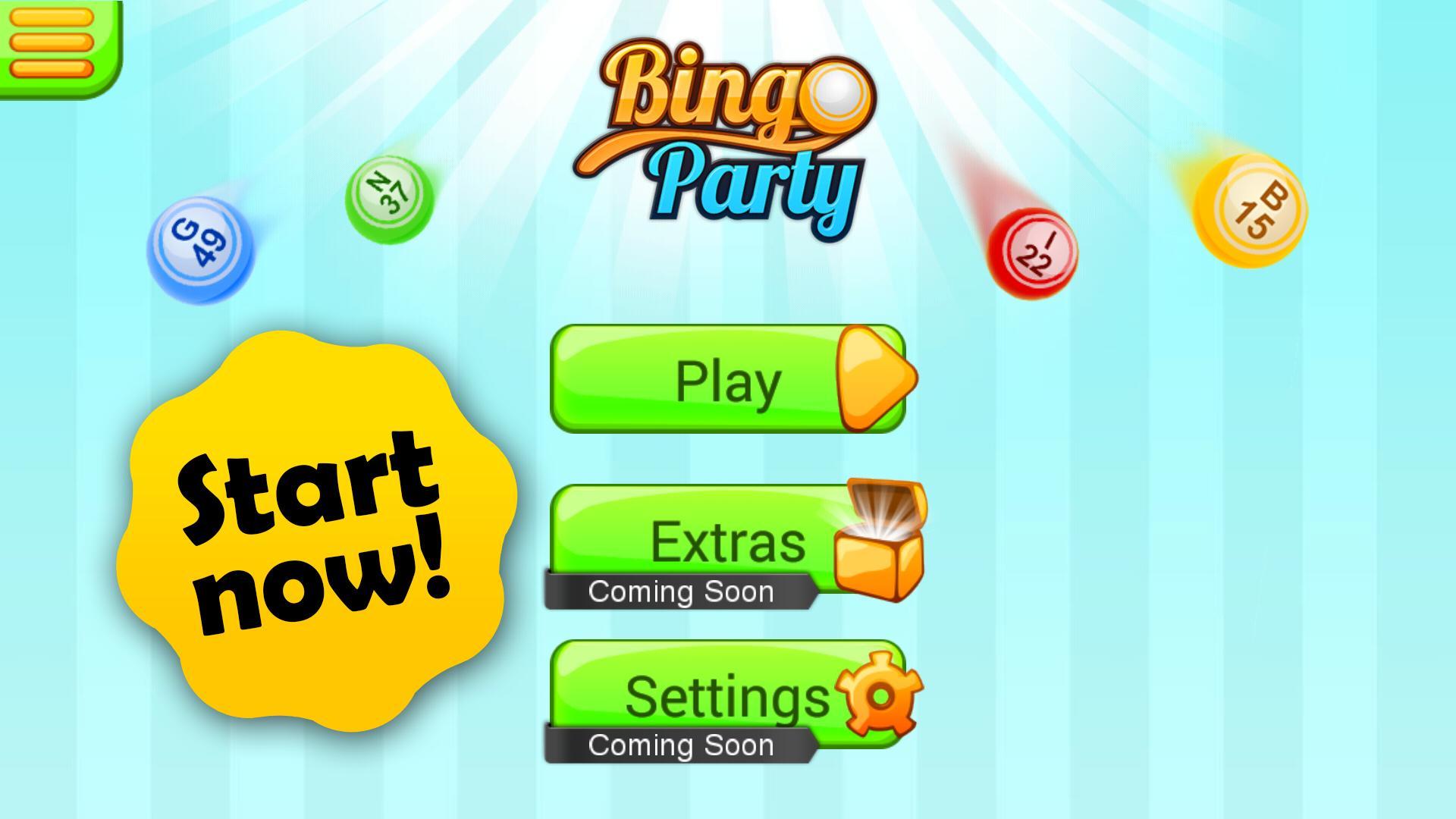 Bingo Party poster