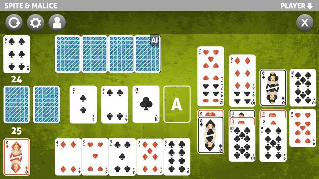 Spite and malice card game for android apk download.