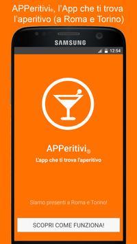 APPeritivi l'app che trova gli aperitivi poster