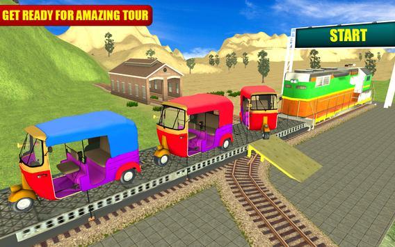 Tuk Tuk Cargo Train Transport screenshot 6