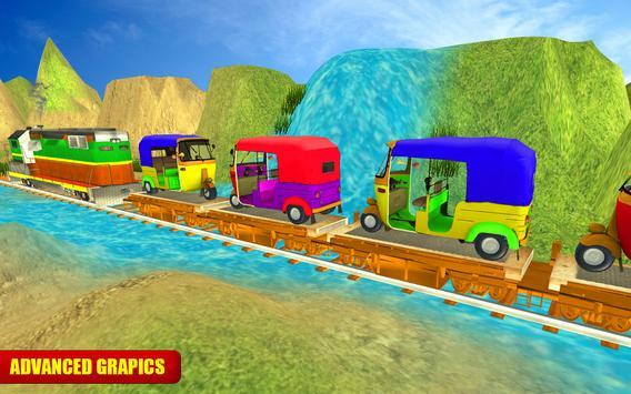 Tuk Tuk Cargo Train Transport screenshot 7