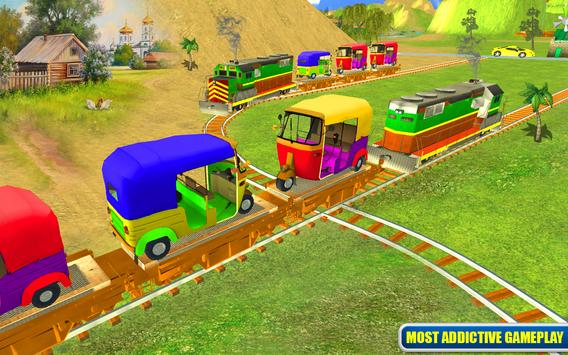 Tuk Tuk Cargo Train Transport screenshot 8
