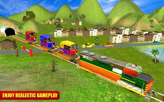 Tuk Tuk Cargo Train Transport screenshot 13