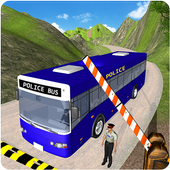 NYPD Police Bus Simulator 3D icon