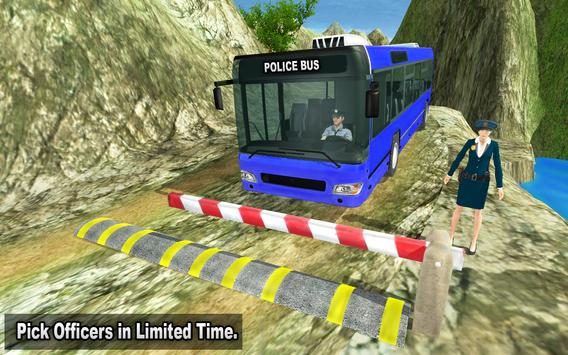 NYPD Police Bus Simulator 3D screenshot 15