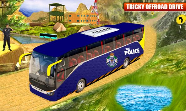 NYPD Police Bus Simulator 3D screenshot 1