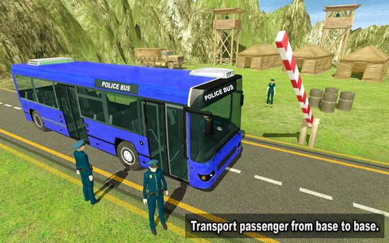 NYPD Police Bus Simulator 3D screenshot 6