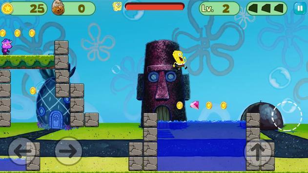 Sponge Amazing Adventure Run apk screenshot