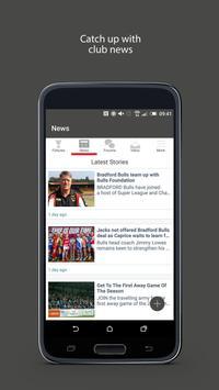 Fan App for Bradford Bulls screenshot 2