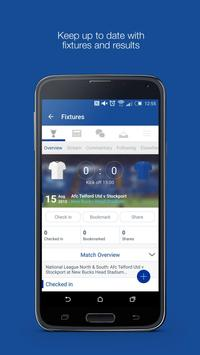 Fan App for Stockport County poster