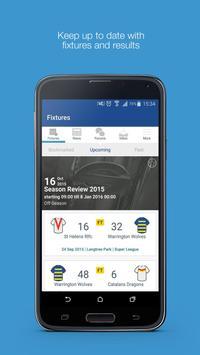 Fan App for Warrington Wolves poster
