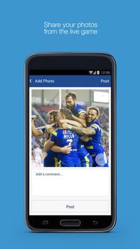 Fan App for Warrington Wolves screenshot 1