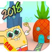 3D Rock Bikini-Bottom 2018 (sponge-bob) Game. icon