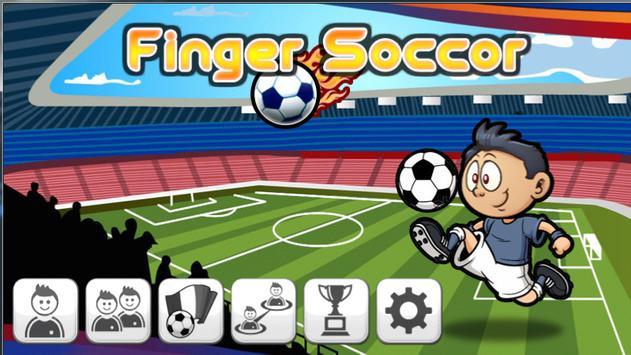 Finger Soccer Lite poster
