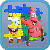 Jigsaw Spongebob Toy Kids icon
