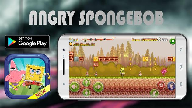 Angry Spongebob Epic Adventure screenshot 1