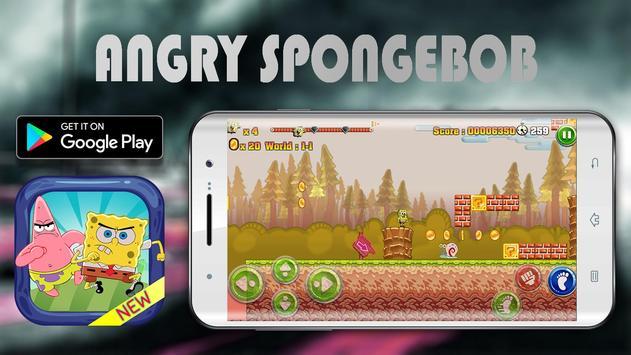 Angry Spongebob Epic Adventure screenshot 2