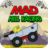 Sponge Hill Car Racing icon