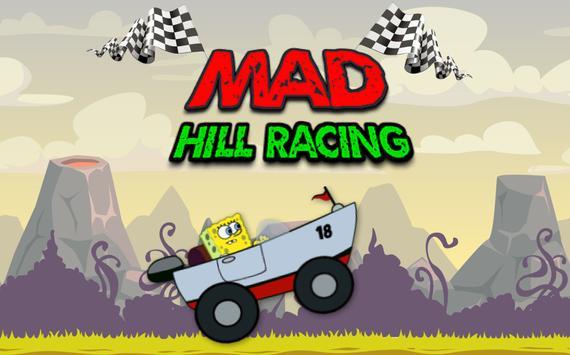 Sponge Hill Car Racing poster