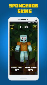 Skins Songebob For Minecraft For Android APK Download - Spongebob skins fur minecraft