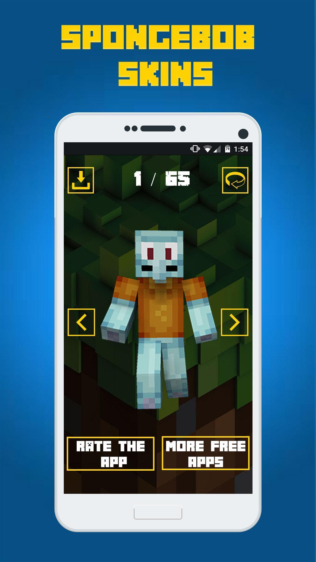 Skins SpongeBob for Minecraft para Android - APK Baixar
